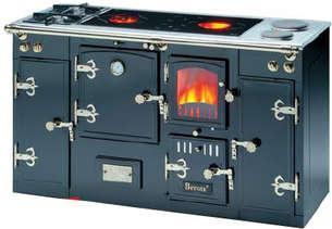 Cocina le a cerrada modular a2 9nc con doble encimera for Cocina lena calefactora