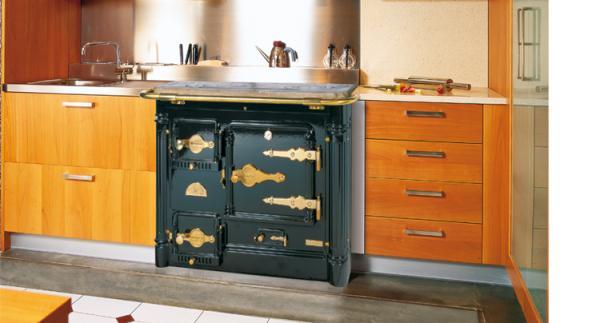 Cocina calefactora l 09 cce encimera cl sica hergom - Hergom cocinas calefactoras ...