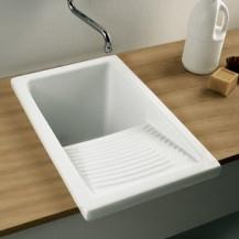 lavadero riba 40cm blanco unisan