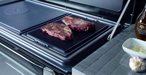 Cocina vulcano 7te5 calefactora lacunza for Cocinas calefactoras de lena precios